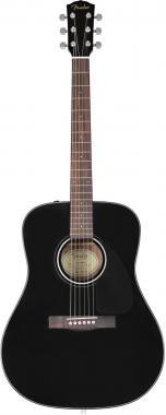 Fender cd60 v3 black chitarra acustica