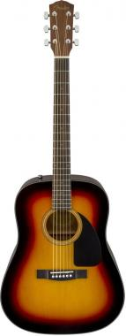 Fender cd60 v3 brown sunburst chitarra acustica