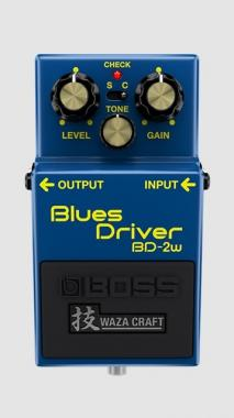 BOSS BD2W BLUES DRIVER (Waza Craft) OVERDRIVE PER CHITARRA