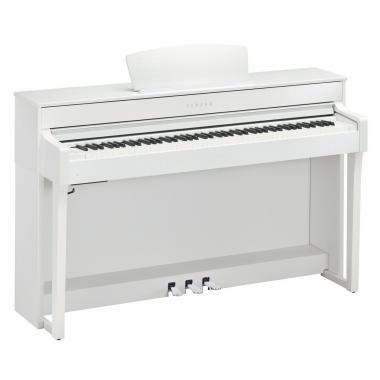 Yamaha clp635 white pianoforte digitale
