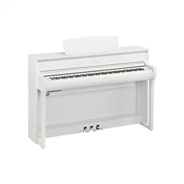 Yamaha clp675 white pianoforte digitale