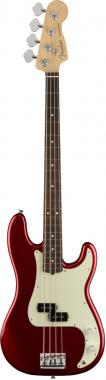 Fender american professional precision bass candy apple red
