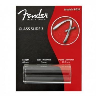 Fender slide 3 thick medium in vetro