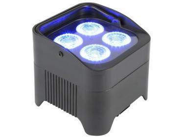 Beamz bbp94 uplight par 4x10w 6in1 rgbwa-uv libatt. dmx irc