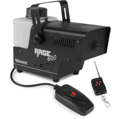 Beamz rage600 smokemachine wireless cntr macchina del fumo