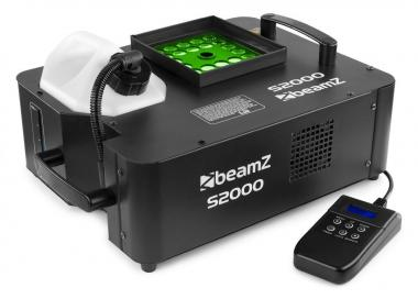 Beamz s2000 smokemachine dmx led 24x3wtri