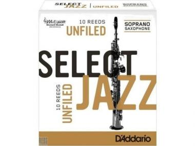 10 ance select jazz sax soprano unfiled n.3m