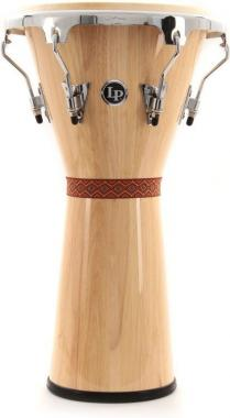 Latin percussion lpa630-awc natural djembe aspire