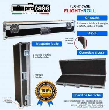 CUSTODIA FLIGHT CASES  PER STUDIOLOGIC SL73 Studio