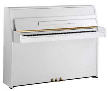 Yamaha b1sc2pwh pianoforte verticale silent