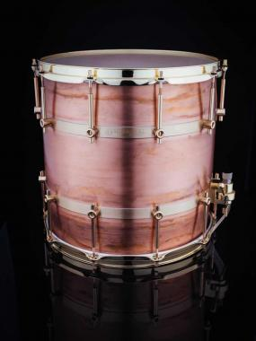 Schagerl orchestral ruhrtrommel copper rullante 14x14