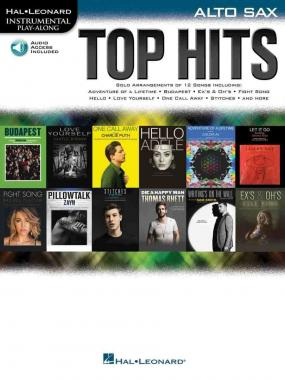 Top hits per sax alto + cd