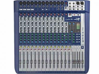 Soundcraft signature 16 mixer usb con effetti