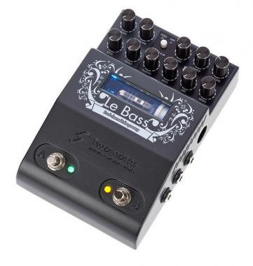TWO NOTES Le Bass - Preamp valvolare a due canali, MIDI