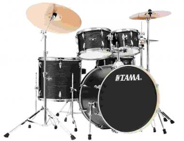 Tama ie52kh6w black oak wrap batteria acustica