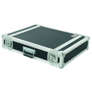 Proel cr202blkm flight case professionale 2u rack 19\