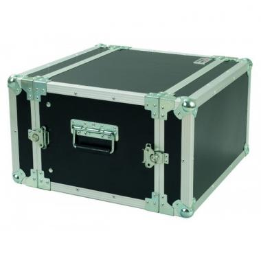 Proel cr106blkm flight case standard 6 unita' rack 19\