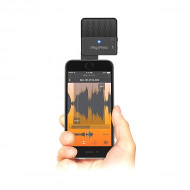 IK MULTIMEDIA iRig MIC Field - Microfono panoramico per iPhone, iPad e iPod touch