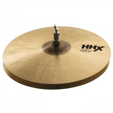"SABIAN 11502XMN 15"" HHX Medium Hats"