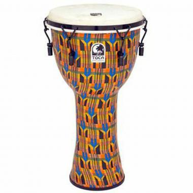 TOCA SFDMX-12K KENTE CLOTH DJEMBE 12""