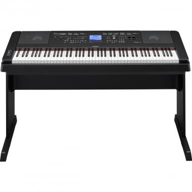 Yamaha dgx660 black pianoforte digitale