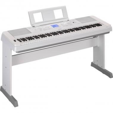 Yamaha dgx660 white pianoforte digitale