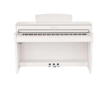 Yamaha clp645 white pianoforte digitale