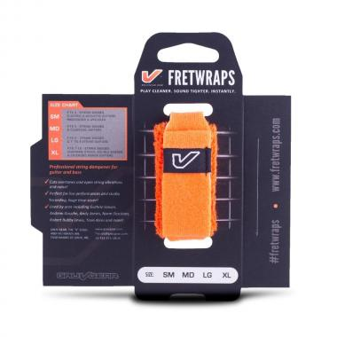 Gruv gear fretwraps hd flare orange medium