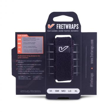 Gruv gear fretwraps black medium