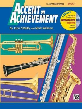 Accent on achievement vol.1 + cd per sax alto john o'reilly