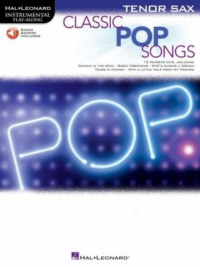 Classic pop songs + cd per sax tenore