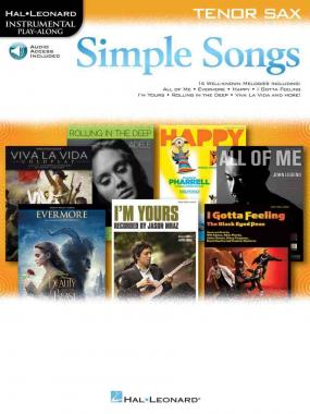 Simple songs + cd per sax tenore