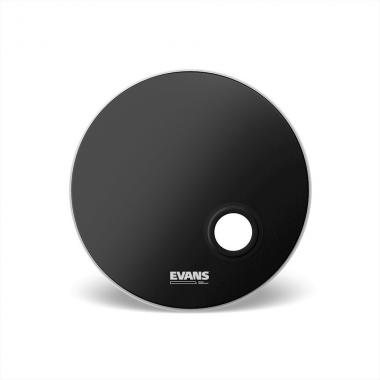 EVANS BD24REMAD EMAD RESONANT BLACK PELLE 24""