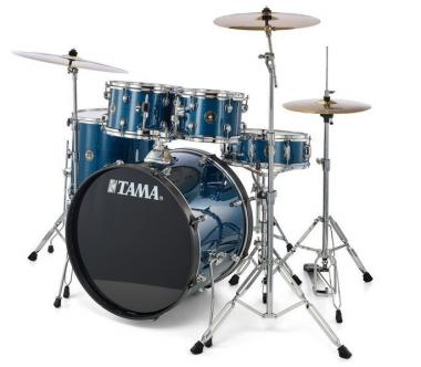 Tama rhythm mate rm52kh6c-hlb hairline blue