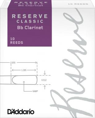 10 ANCE RESERVE CLASSIC CLARINETTO Bb N.4+